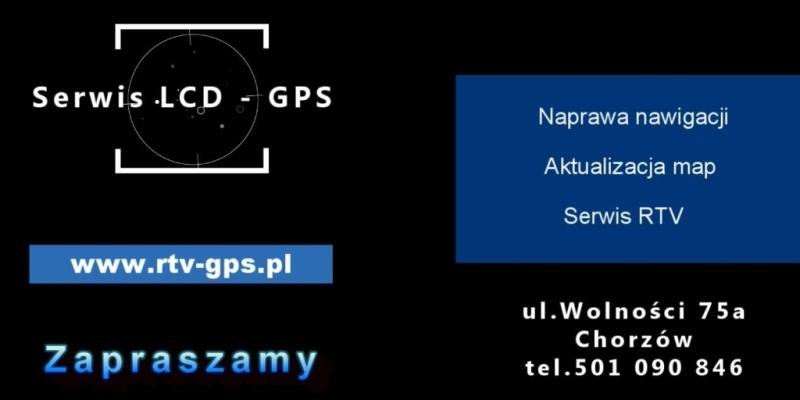 Serwis Naprawa Nawigacji GPS RTV
